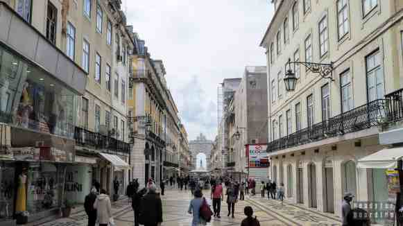 Łuk Triumfalny Rua Augusta, Lizbona