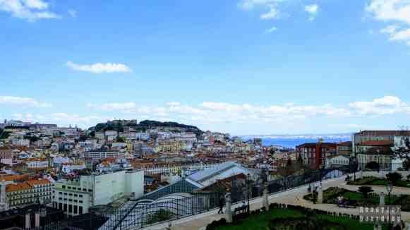 Miradouro de Sao Pedro de Alcantara, Lizbona