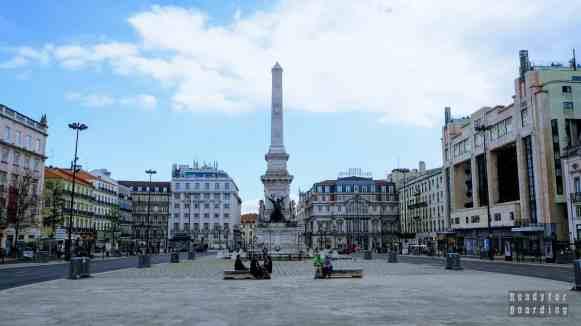 Monumento dos Restauradores, Lizbona