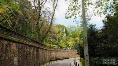 Droga do Quinta da Regaleira