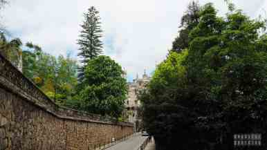 Droga do Quinta da Regaleira