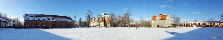 Zamek Topacz - panorama