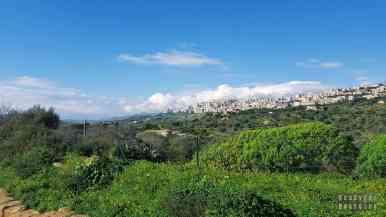 Widok z Doliny Świątyń, Sycylia