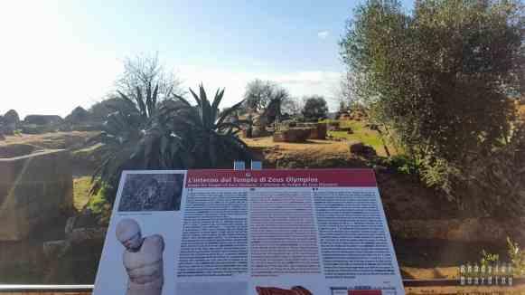 Świątynia Zeusa, Agrigento - Sycylia
