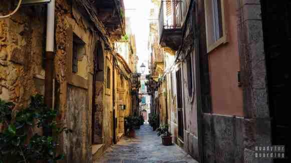 Ortigia, Syrakuzy - Sycylia