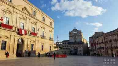 Piazza del Duomo, Syrakuzy - Sycylia