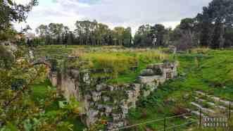 Amfiteatru rzymski w Syrakuzy - Sycylia