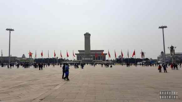 Pomnik Bohaterów Ludu, Plac Tian'anmen, Pekin