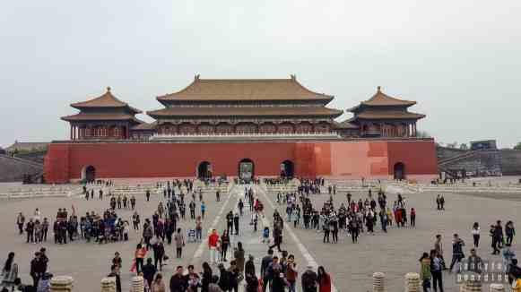 Brama Południkowa - Zakazane Miasto, Pekin