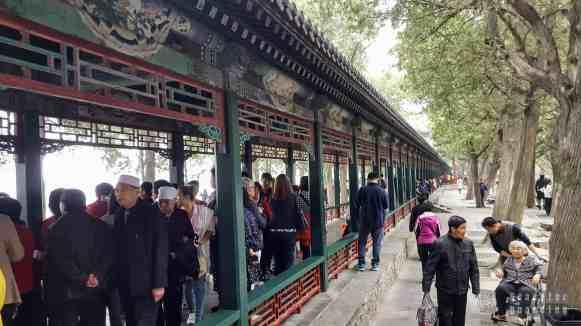 Wielki Korytarz, Pałac Letni w Pekinie, Chiny