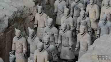 Armia Terakotowa, Xian, Chiny