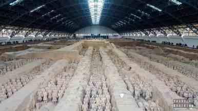 Armia Terakotowa, Xi'an, Chiny