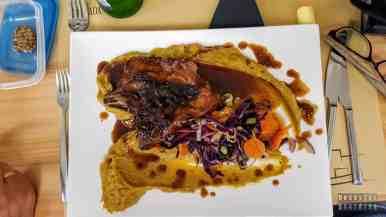 Restauracja w Ponta Delgada, Azory