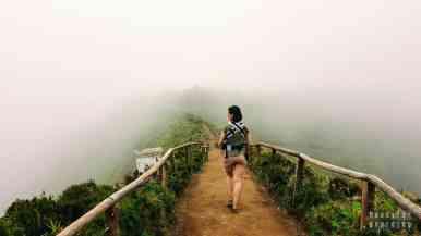 Ścieżka do Miradouro da Boca do Inferno, Azory