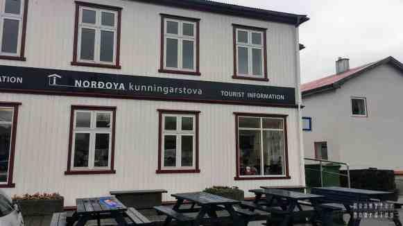 Informacja turystyczna w Klaksvík, Borðoy - Wyspy Owcze