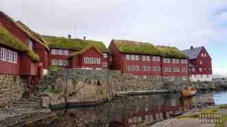 Tinganes w Tórshavn, Streymoy - Wyspy Owcze