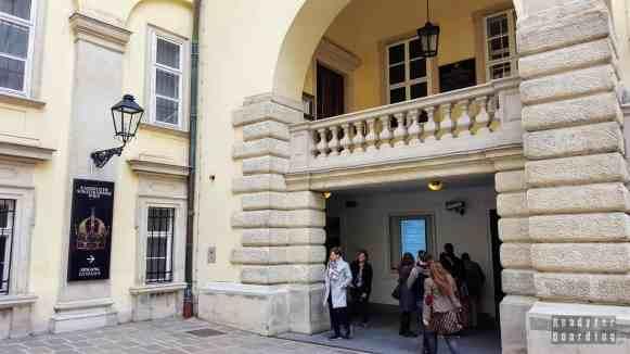 Skarbiec w Hofburgu, Wiedeń - Austria