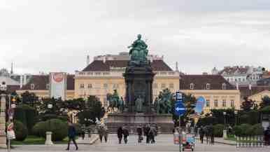 Maria Theresien Platz, Wiedeń - Austria