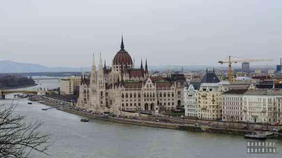 Parlament w Budapeszcie - Węgry