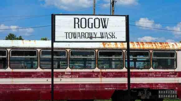 Kolej wąskotorowa w Rogowie, województwo łódzkie