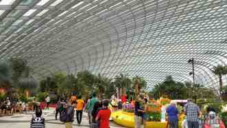 Flower Dome, Gardens by the Bay - Singapur