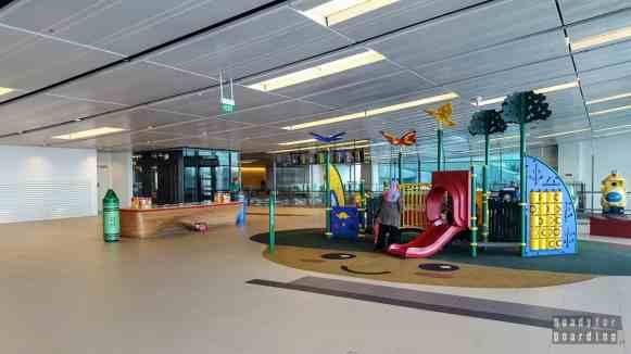 Atrakcje dla dzieci - lotnisko Singapur-Changi