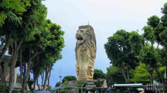 Sentosa Merlion, Singapur
