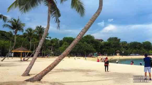 Plaże na Sentosie - Singapur