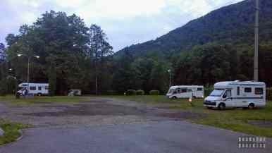 Kempingi w Szwajcarii - Area Sosta Tamaro