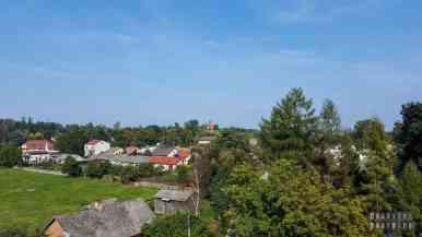 Widok z zamku - Inowłódz