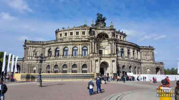 Opera Sempera, Drezno - Niemcy