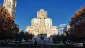 Plaza de España, Madryt - Hiszpania