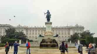 Plaza de Oriente, Madryt - Hiszpania
