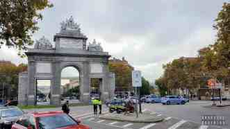 Puerta de Toledo, Madryt - Hiszpania