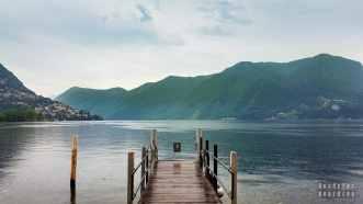 Jezioro Lugano - Szwajcaria