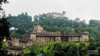 Zamki w Bellinzonie - Szwajcaria