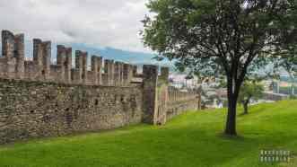 Zamek Montebello, Bellinzona - Szwajcaria