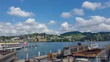 Jezioro Czterech Kantonów, Lucerna - Szwajcaria