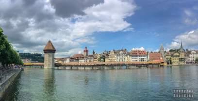 Most Klasztorny, Lucerna - Szwajcaria