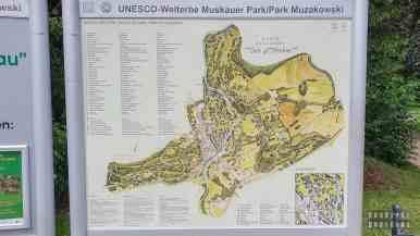 Park księcia Pücklera, Bad Muskau - Saksonia, Niemcy