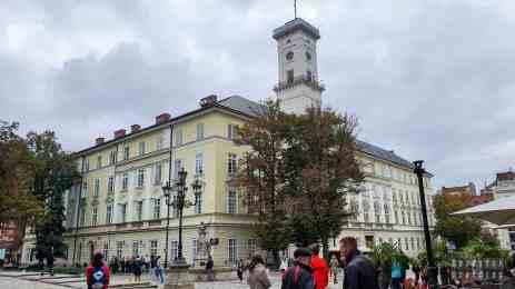 Ratusz - Rynek, Lwów