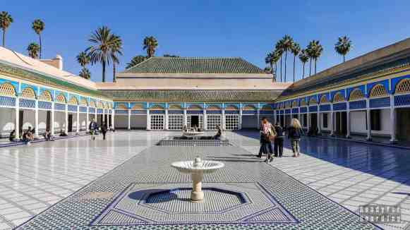 Pałac Bahia - Marrakesz, Maroko