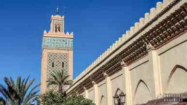 Meczet w Marrakeszu - Maroko