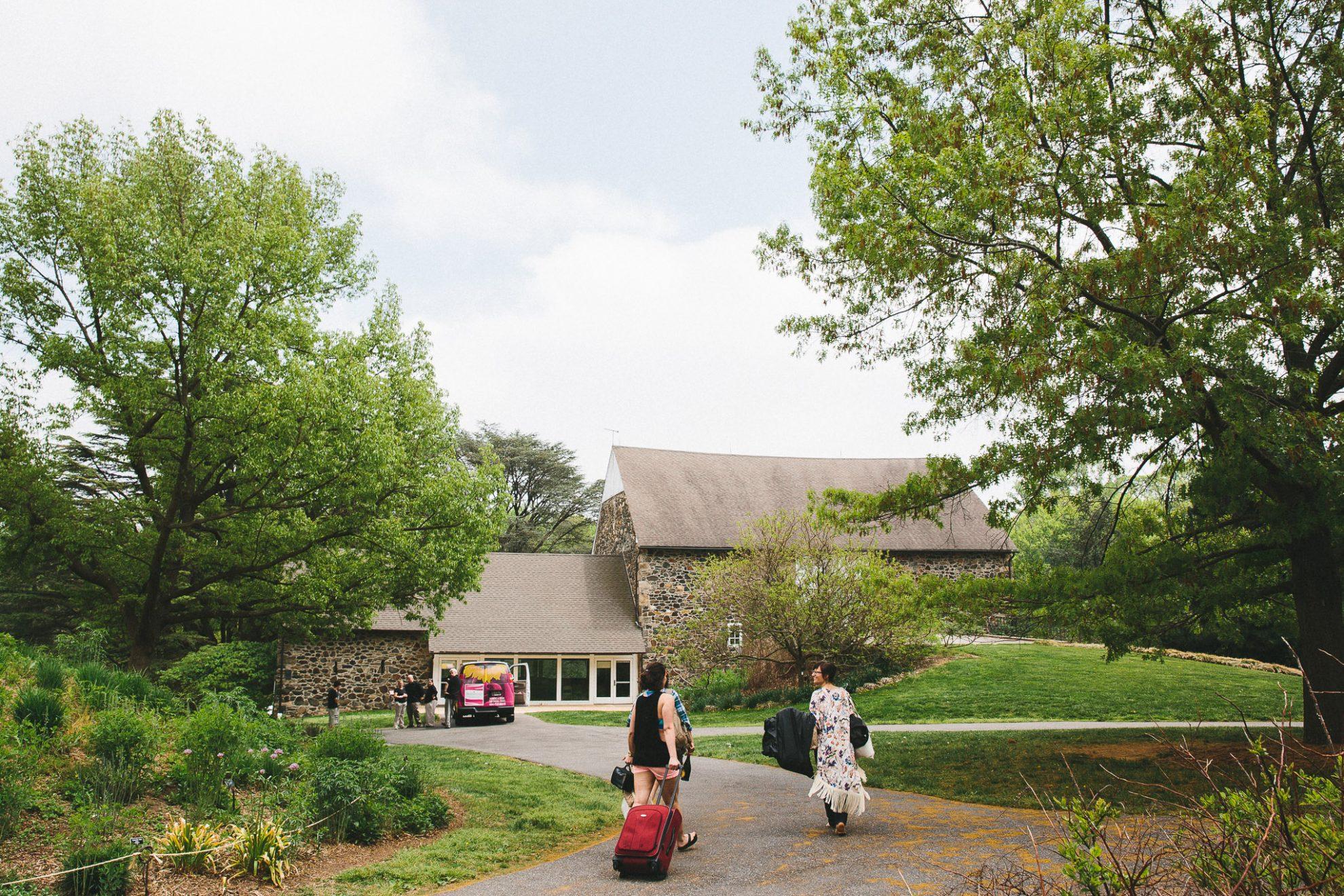 Tyler Arboretum Wedding Readyluck Adrienne Josh