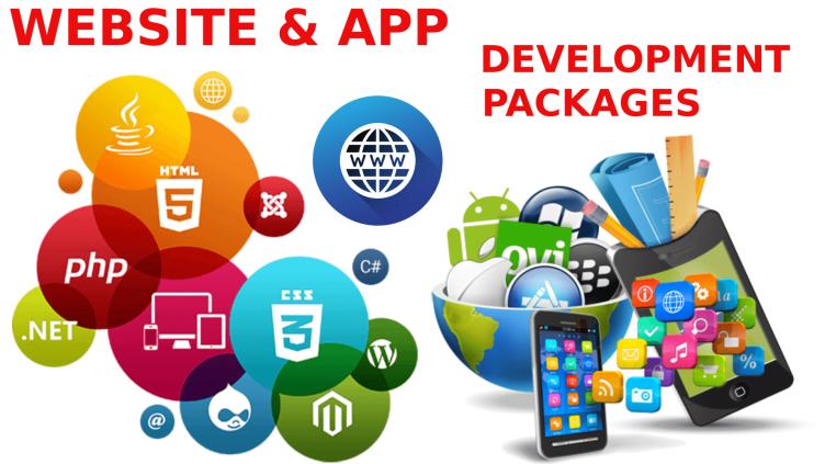Website & App Development Packages