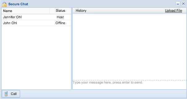 Screenshot: Secure Link