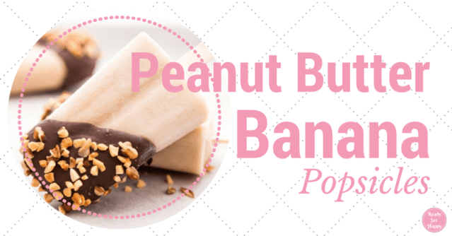 Peanut Butter Banana Popsicle Recipe