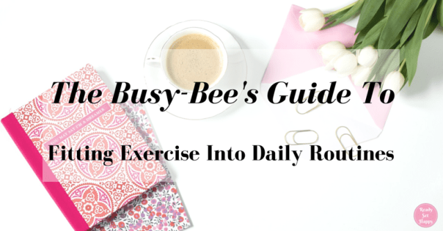 Fitting exercise into daily routines