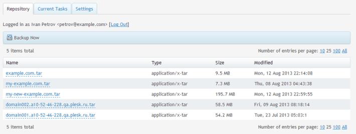 dropbox-repository