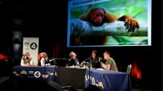 Simon Watt on the Infinite Monkey Cage with Robin Ince, Brian Cox, Sara Pascoe and Sandy Knapp